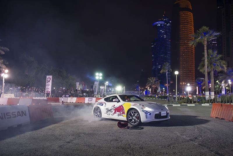 Nissan To Power Red Bull Car Park Drift Qatar Is Booming